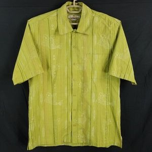 Tommy Bahama Silk Fish Pattern Hawaiian Shirt